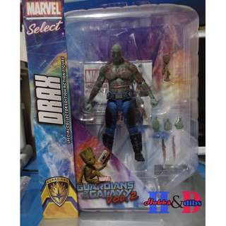 Marvel Select Guardians of the galaxy vol.2: Drax with baby groot