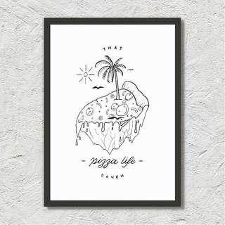 That Pizza Life Dough - Illustration Print