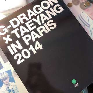 GDRAGON X TAEYANG IN PARIS 2014