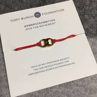 Tory Burch Embrace Ambition Bracelet Red  紅色手繩