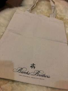 Brooks Brothers Canvas bag