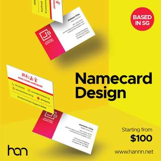 Namecard Design - Quality designs that work for you.
