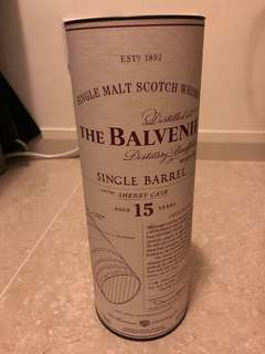Balvenie single barrel 15 year Sherry cask