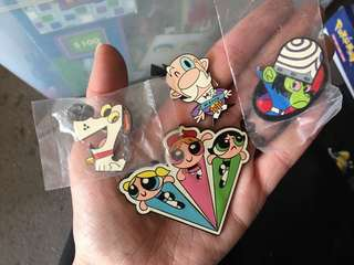 Powerpuff Girls Collectable Pin Collection
