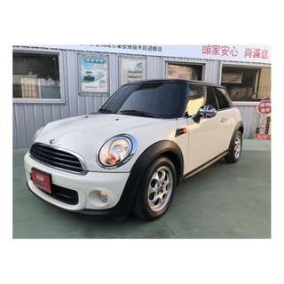 【SUM尼克汽車】2012 Mini Hatch One 1.6L