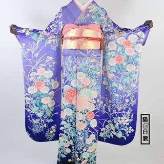 日本正絹振袖和服出租 Japanese Furisode Kimono Rental