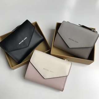 Michael Kors Jet Set Small Leather Envelope Wallet 銀包