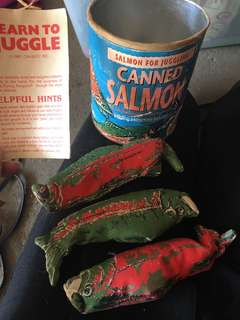 Canned Salmon for Juggling!