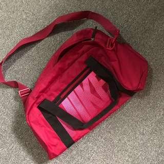 Nike Magenta duffle bag