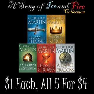 A Song of Ice and Fire - George R. R. Martin eBooks