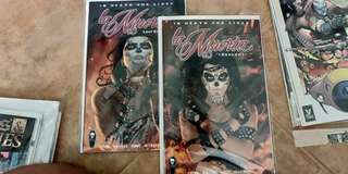 La Muerta Last Rites + Descent comic book