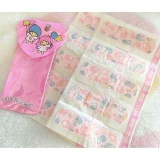 日本版 - 懷舊絕版卡通公仔膠布連套 SANRIO Little Twin Stars 雙子星 Kiki Lala 95年出品