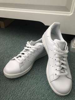 All White Stan Smith