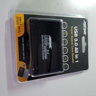 Astone USB 3.0 Super Speed Card Reader