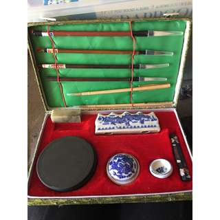 Chinese Caligraphy Set