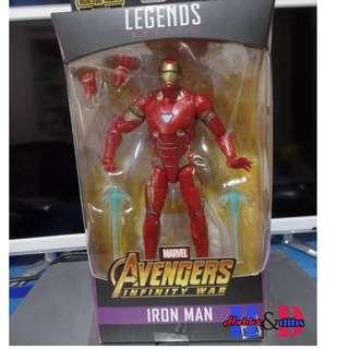 Marvel legends infinity war wave Iron Man