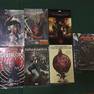 Assorted Graphic Novels