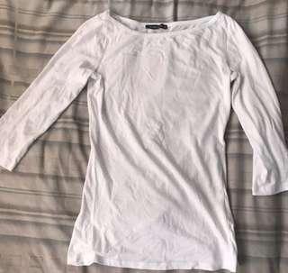 Terranova White 3/4s