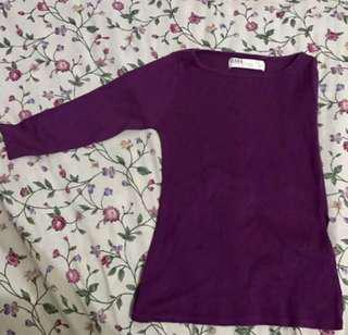 Zara Purple 3/4s