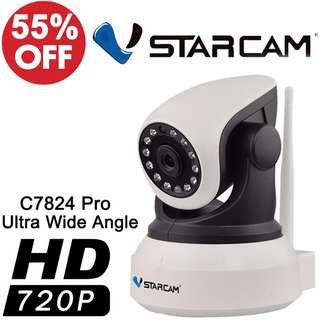 Vstarcam C7824 Wireless IP-PRO 720P 120° Wide Angle