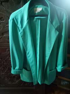 Blue Green Coat