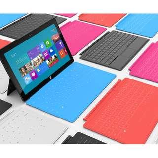 Microsoft Surface tabet 可連續10小時使用的平版電腦 微軟surface 64 GB Nvidia4核 2GB RAM