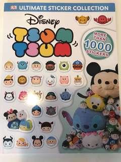 Tsum Tsum sticker collection book