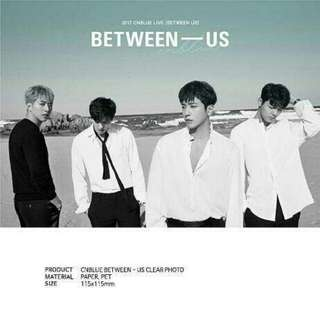 [PO] CNBLUE Between-Us Clear Photo