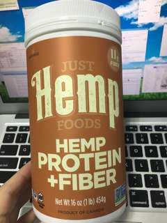 just hemp 大麻籽 超級食物 高蛋白質 高纖維 454g