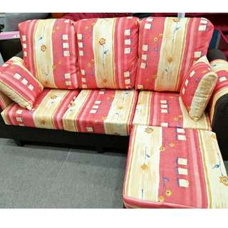 L-SHAPE SOFA 3 SEATER / RM450 ONLY FOR TODAY!!!