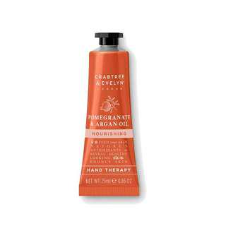 Crabtree & Evelyn Hand Therapy Pomegranate Argan Oil