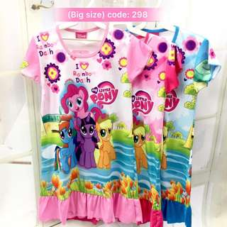 Buy 3 @ RM33 ❤Bargain Sale❤ My Little Pony Jersey Dress J298