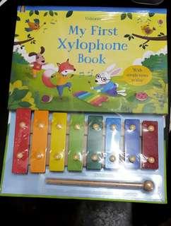 Usborne children book - my first xylophone