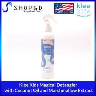 🔥Flash sales🔥SHOPDGD - Klee Kids Magical Detangler with Coconut Oil and Marshmallow Extract-Made in USA [Made in USA - Direct Import]