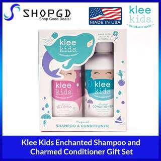 🔥Flash sales🔥SHOPDGD - Klee Kids Enchanted Shampoo and Charmed Conditioner Gift Set [Made in USA - Direct Import]