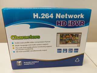 CCTV HD iDVR system 高清攝錄系統