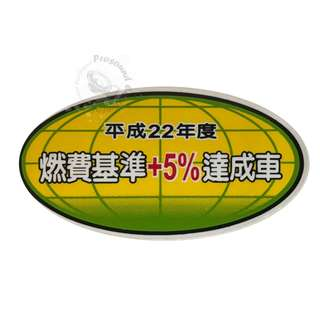 JAPANESE ECO TOYOTA GENUINE JDM STICKER