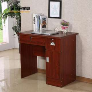 Office Desk Space saver with cabinet