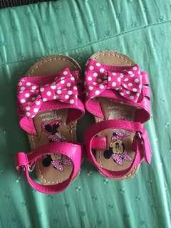 disney minnie baby shoes