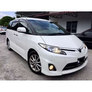 2013 Toyota Estima 2.4 (A) AERAS NEW FACELIFT SPEC