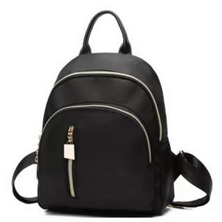 Black Korean Mini Backpack | ALL AT P199 ONLY
