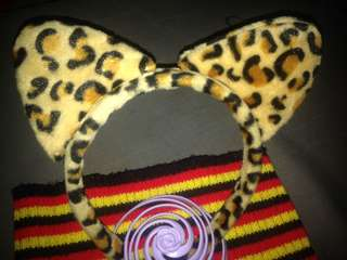 Tiger Cat Ear Headband