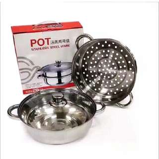 Pot Set With Steamer