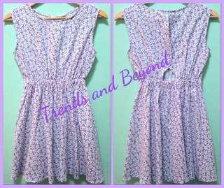 Brand new Open back dress