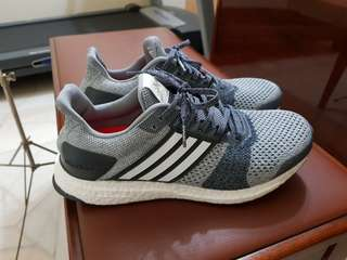 Adidas Ultraboost ST M Stability Grey Running Sports Shoes