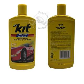 KIT CARNAUBA LIQUID CAR WAX (473ML)