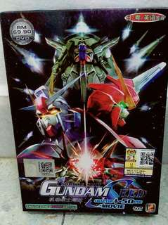 Mobile Suit Gundam Seed Original DVD (Chapter 1-50 End + Movie)