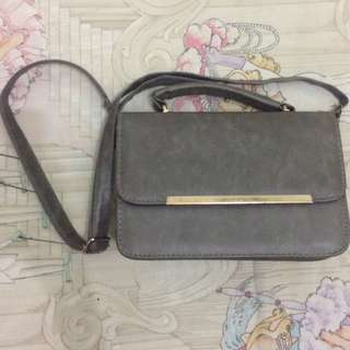 Berrybenka Grey Sling Bag