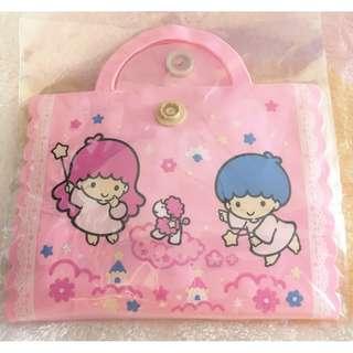 日本版 - 懷舊絕版卡通公仔膠布連套 SANRIO Little Twin Stars 雙子星 Kiki Lala 94年出品