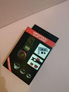 手機 魚眼 廣角鏡 universal clip lens